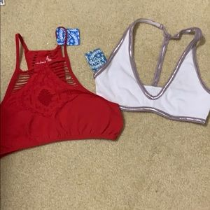 *NEW* 2 free people Bralettes